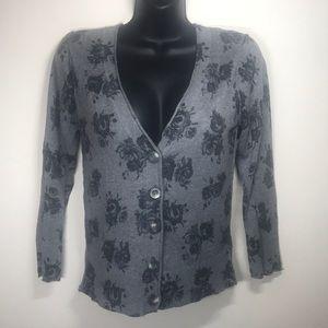 AEROPOSTALE Buttoned V-Neck Cardigan, Size Large